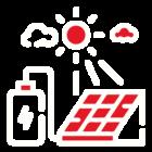 Panneaux photovoltaiques pictogramme